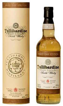 Tullibardine Scotch Single Malt Aged Oak Edition